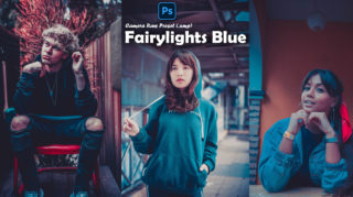 Download Fairylights Blue Camera Raw XMP Preset of 2020 for Free | Fairylights Blue Camera Raw Preset of 2020 Download free XMP Preset | How to Edit Like Fairylights Blue Effect