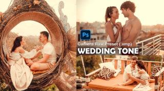Download Wedding Tone Camera Raw XMP Preset of 2020 for Free | Wedding Tone Camera Raw Preset of 2020 Download free XMP Preset | How to Edit Like Wedding Tone Effect