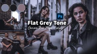 Download Flat Grey Camera Raw XMP Preset of 2020 for Free | Flat Grey Camera Raw Preset of 2020 Download free XMP Preset | How to Edit Like Flat Grey Colorgrading