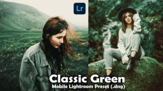 Download Classic Green Lightroom Mobile Presets DNG of 2020 for Free | Classic Green Mobile Lightroom Preset DNG of 2020 Download free | How to Edit Like Classic Moody Green
