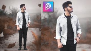 2-Minutes PicsArt Hindi Tutorial | Realistic Natural HD Photo Manipulation in PicsArt + Free Preset