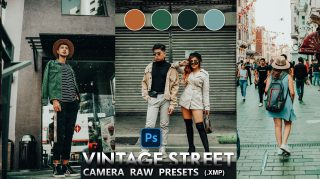 Download Vintage Street Camera Raw XMP Preset of 2020 for Free | Vintage Street Camera Raw Preset of 2020 Download free XMP Preset | How to Edit Like Vintage Street Effect