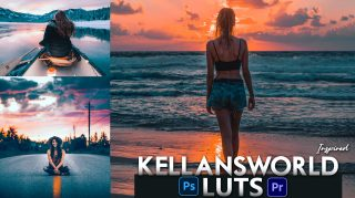 Download Free Kellansworld Inspired LUTs | How to Colorgrade Photos & Videos Like Kellansworld Inspired Effect in Photoshop & Premiere Pro
