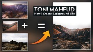 How i Create Background Like Toni Mahfud in Photoshop   How to Download Backgrounds Like Toni Mahfud