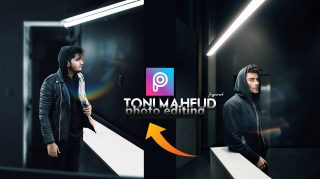 2-Minutes PicsArt Hindi Tutorial | Toni Mahfud PicsArt Photo Editing | How to Edit Like Toni Mahfud in PicsArt