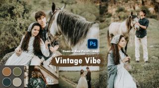 Download Vintage Vibe Camera Raw XMP Preset of 2020 for Free | Vintage Vibe Camera Raw Preset of 2020 Download free XMP Preset | How to Edit Like Vintage Vibe