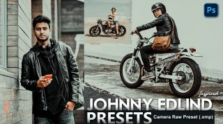 Download Johnny Edlind Inspired Camera Raw XMP Preset of 2020 for Free | Johnny Edlind Inspired Camera Raw Preset of 2020 Download free XMP Preset | How to Edit Like Johnny Edlind Inspired Effect