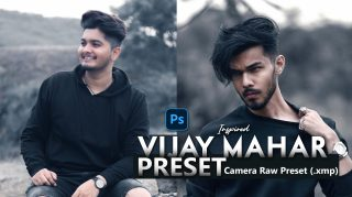 Download Vijay Mahar Inspired Camera Raw XMP Preset of 2020 for Free | Vijay Mahar Inspired Camera Raw Preset of 2020 Download free XMP Preset | How to Edit Like Vijay Mahar