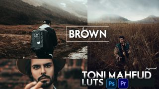 Download Free Toni Mahfud Inspired Brown LUTs | How to Colorgrade Photos & Videos Like Toni Mahfud Brown Effect in Photoshop & Premiere Pro