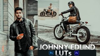 Download Free Johnny Edlind Inspired LUTs | How to Colorgrade Photos & Videos Like Johnny Edlind Inspired Effect in Photoshop & Premiere Pro