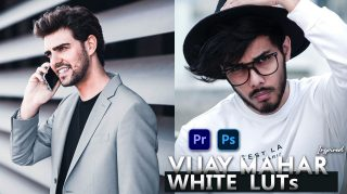 Download Free Vijay Mahar Inspired White LUTs | How to Colorgrade Photos & Videos Like Vijay Mahar in Photoshop & Premiere Pro