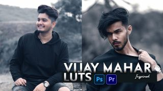 Download Free Vijay Mahar Inspired LUTs | How to Colorgrade Photos & Videos Like Vijay Mahar in Photoshop & Premiere Pro