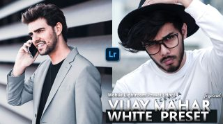 Download Vijay Mahar Inspired White Lightroom Mobile Presets DNG of 2020 for Free | Vijay Mahar Inspired White Mobile Lightroom Preset DNG of 2020 Download free | How to Edit Like Vijay Mahar White Tone