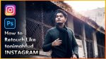 How i Retouch My Instagram Photos Like Toni Mahfud in Photoshop cc Hindi Tutorial