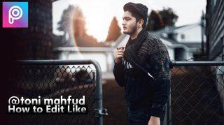 2-Minutes PicsArt | How to Edit Like Toni Mahfud in PicsArt Hindi Tutorial