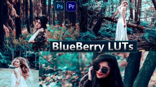 Download BlueBerry LUTs of 2020 for Free | How to Install LUTs in Adobe Photoshop