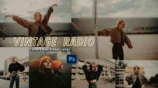 Download VINTAGE Radio Camera Raw XMP Preset of 2020 for Free | VINTAGE Dream Camera Raw Preset of 2020 Download free XMP Preset | How to Edit Like VINTAGE Dream Effect