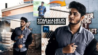 Gold Skin Tone Toni Mahfud Inspired Photo Editing in Photoshop cc | How to Edit Like @toni Mahfud in Photoshop