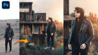 Realistic Blending Photo with Background Photo Manipulation in Photoshop cc | How to Blend Photo with Background in Photoshop cc