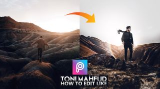 2-Minutes PicsArt | How to Edit Like Toni Mahfud in PicsArt Hindi Tutorial + Free Toni Mahfud Preset