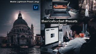 Download Ricebucket Inspired DARK Lightroom Mobile Presets DNG of 2020 for Free | Ricebucket Inspired DARK Mobile Lightroom Preset DNG of 2020 Download free | How to Edit Like Ricebucket Inspired DARK Tone