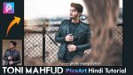 PicsArt Hindi Tutorial Toni Mahfud Inspired Photo Manipulation | How to Edit Like Toni Mahfud in PicsArt