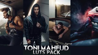 Download Free Toni Mahfud Inspired LUTs Pack Bundle of 2020 | How to Install LUTs in Adobe Photoshop
