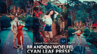 Download Brandon Woelfel Inspired Cyan Leaf Lightroom Presets of 2020 for Free | Brandon Woelfel Inspired Cyan Leaf Desktop Lightroom Presets | How to Edit Like Brandon Woelfel Inspired Cyan Leaf Tone