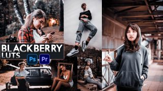 Download Free BLACKBERRY LUTs | How to Colorgrade Photos & Videos Like BLACKBERRY in Photoshop & Premiere Pro