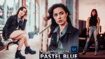 Download Pastel Blue Lightroom Mobile Presets DNG of 2020 for Free | Pastel Blue Mobile Lightroom Preset DNG of 2020 Download free | How to Edit Like Pastel Blue Tone