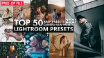 Download Free TOP 50 Lightroom Presets of 2021 | Top 50 Camera Raw Presets of 2021 | Top 50 XMP Presets of 2021 | Download Free ZIP File