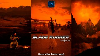 Download Blade Runner Camera Raw XMP Preset of 2021 for Free | Blade Runner Inspired Camera Raw Preset of 2020 Download free XMP Preset | How to Edit Like Blade Runner Inspired Color