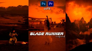 Download Blade Runner Video LUTs of 2021 | How to Colorgrade videos Like Blade Runner Movie