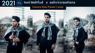 Download toni Mahfud x ashvircreations Camera Raw XMP Preset of 2021 for Free | toni Mahfud x ashvircreations Inspired Camera Raw Preset of 2020 Download free XMP Preset | How to Edit Like toni Mahfud x ashvircreations Inspired Color