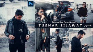 Download Tushar Silavat Camera Raw XMP Preset of 2021 for Free | Tushar Silavat Inspired Camera Raw Preset of 2020 Download free XMP Preset | How to Edit Like Tushar Silavat Tones