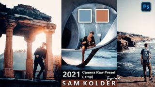 Download SAM KOLDER Camera Raw XMP Preset of 2021 for Free | SAM KOLDER Inspired Camera Raw Preset of 2020 Download free XMP Preset | How to Edit Like SAM KOLDER Tones