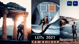 Download SAM KOLDER Video LUTs of 2021 | How to Colorgrade videos Like SAM KOLDER in Premier Pro | SAM KOLDER LUTs Pack