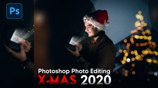 Photoshop Hindi Tutorial Christmas Special Photo Editing 2020 | Realistic Christmas Photo Manipulation 2020 in Photoshop