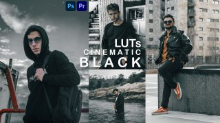 Download Free CINEMATIC BLACK LUTs 2021 | How to Colorgrade Photos & Videos Like CINEMATIC BLACK in Photoshop & Premiere Pro