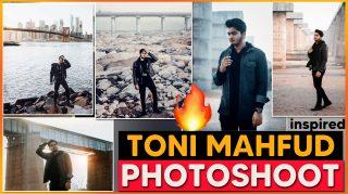 Toni Mahfud Inspired PHOTOSHOOT 2021 | Best Locations to Click Photos Like TONI MAHFUD + FREE PRESET