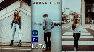 Download Free Urban FILM LUTs 2021 | How to Colorgrade Photos & Videos Like Urban FILM in Photoshop & Premiere Pro