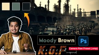 Download KGF2 Movie Inspired Moody Brown Camera Raw XMP Preset of 2021 for Free | KGF2 Movie Inspired Moody Brown Camera Raw Preset of 2021 Download free XMP Preset | How to Edit like KGF2 Movie Inspired Moody Brown Photos