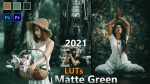 Download Free Matte Green LUTs 2021 | How to Colorgrade Matte Green Effect tp Photos & Videos in Photoshop & Premiere Pro