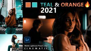 Download TEAL & ORANGE 2021 Lightroom Mobile Presets DNG of 2021 for Free | TEAL & ORANGE 2021 Mobile Lightroom Preset DNG of 2021 Download free | How to Make TEAL & ORANGE Photos