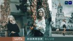 Download Free Horror Blue LUTs of 2021 | How to Colorgrade Horror Blue Effect to Photos & Videos in Photoshop & Premiere Pro