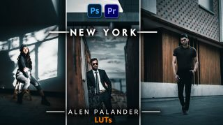 Alen Palander NEW YORK LUTs of 2021 | How to Colorgrade Alen Palander NEW YORK Effect to Photos & Videos in Photoshop & Premiere Pro