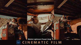 Download Cinematic Film Lightroom Mobile Presets DNG of 2021 for Free | Cinematic Film Mobile Lightroom Preset DNG of 2021 Download free