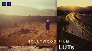 Free Hollywood Film LUTs of 2021 | How to Colorgrade Hollywood Film Effect to Photos & Videos in Photoshop & Premiere Pro