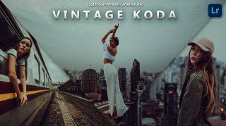 Vintage KODA Lightroom Presets of 2021 for Free   Vintage KODA Desktop Lightroom Presets of 2021