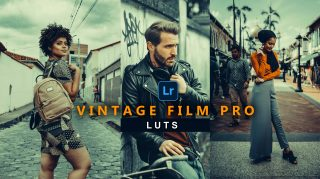 Vintage Film Pro LUTs of 2021 | How to Colorgrade Vintage Film Pro Effect to Photos & Videos in Photoshop & Premiere Pro